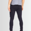BRAVE SOUL CHARCOAL ZIP LEG RIPPED SKINNY JEANS - Laurelled