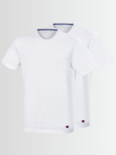 Champion T-SHIRT CREW NECK (Pack of 2) - Laurelled
