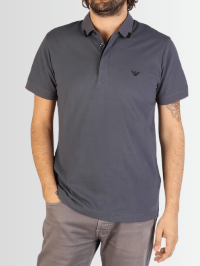 ARMANI POLO SHIRT - Laurelled